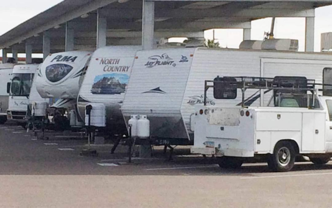 Secure your RV Against Theft